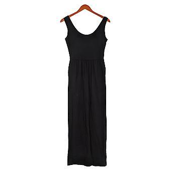 Chiunque petite tute accogliente maglia senza maniche tasca nera A374514