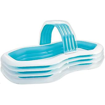 Intex Swim Center Family Cabana Pool Paddling Pool (310x188x130cm) 700 litres