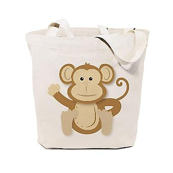 Apina puuvilla kangas laukku