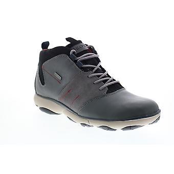 Geox U Nebula 4 X 4 B Abx  Mens Gray Leather Ankle Boots