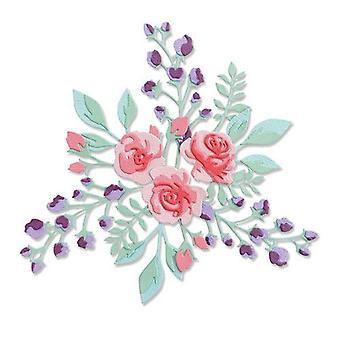 Sizzix Thinlits Die Set - 7pk Floral Layers #2 665083 Jen Long-Philipsen