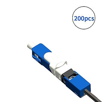Transport gratuit Single-mode Fiber Optic Quick Connector Ftth Sm Optic Fast