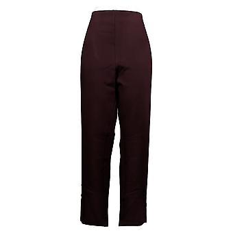Kelly By Clinton Kelly Women's Pants Regular Straight Leg Ponte Brown A272020