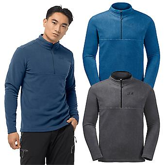 Jack Wolfskin 2021 Mens Arco 1/2 Zip Insulated Lichtgewicht Fleece Pullover