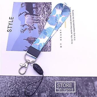 Small Fresh Leaves Neck Strap Lanyards