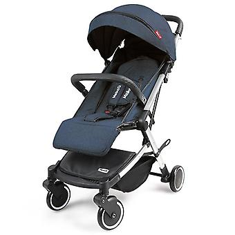 Lightweight Portable Can Lie Down With Four-wheel Shock Absorber Stroller