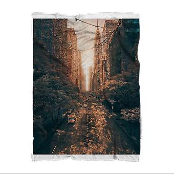 Tainted sublimation adult blanket