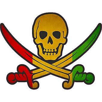 Tarra tarra merirosvo jack rackham calico maa lippu RG guinea