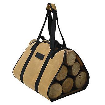Porte-bois de bois de chauffage grand sac de bois de chauffage