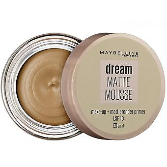 Maybelline Dream Matte Mousse Mattifying Foundation + Podkład
