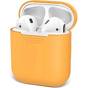 Vodotěsné pouzdro proti nárazu pro Apple Airpod 1 & 2 (oranžové)