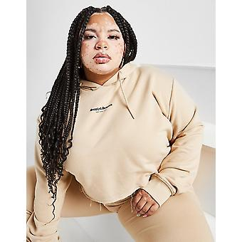 New Supply & Demand Women's Gothic Crop Plus Size Hoodie from JD Outlet Brown