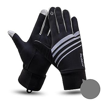 Windproof Thermal Winter Guantes Fleece Running, Jogging, Hiking, Cycling,