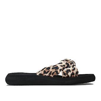 Women's Rocket Dog Slade Leopard Flip -flopit kermassa