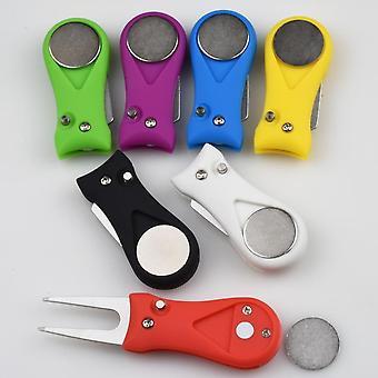 Golf Divot Tool Ball Marker, Golf Training Aids Golf Accessories