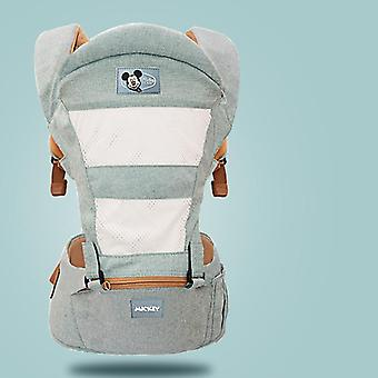 Baby Carrier Newborn, Ergonomic Hipseat, Mickey Wrap, Infant Kangaroo Kid Waist