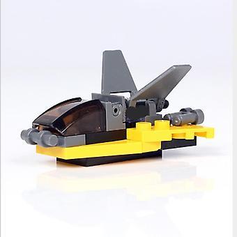 Polika Fire Truck missil bil, fly byggesten husbygning håndlavet