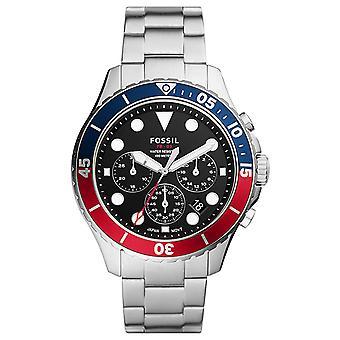 Fossil Men's FB-03 Black Dial Watch - FS5767