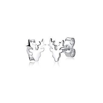 Elli Women's Pearl Earrings in Silver 925(3)