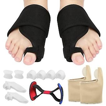 13pcs Bunion Corrector Set Bunion Relief Protector Sleeves Kit Toe Separadores Spacers Straighteners Set