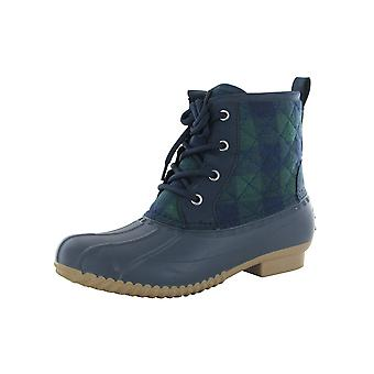 Isaac Mizrahi Live Womens Reckless Waterproof Lace up Boots