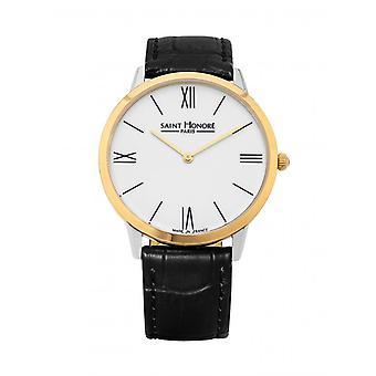 Men's Watch 8260114AR - Black Leather