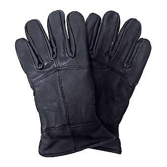 Mens 3m tunnsula vinter läderhandskar