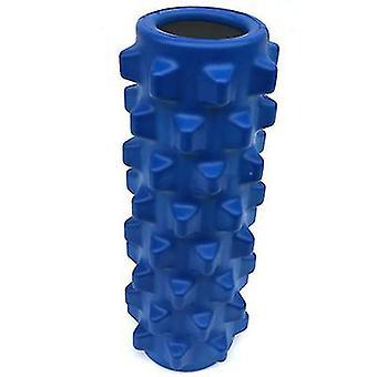 الأزرق اليوغا اللياقة البدنية العمود، تدليك ارتفاع الأسطوانة لاسترخاء العضلات az8758