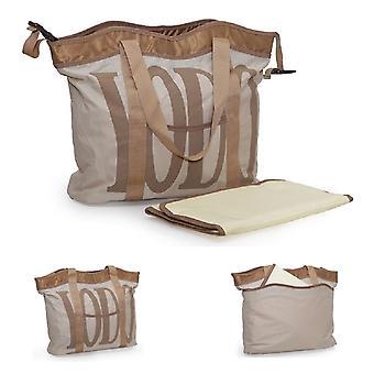 Moni skötväska snygg med sköt kudde, axel och barnvagn väska