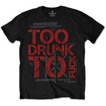 Dead Kennedys - T-shirt Unisex XX-Large troppo ubriaca - Nero
