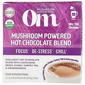 Organic Mushroom Nutrition Hot Chocolate Mushroom Powder, 2.82 Oz