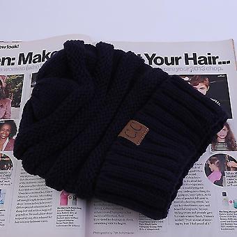 Herbst Winter Baumwolle Gestrickte Bequeme Mütze Outdoor Unisex Warm halten Kappe