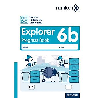 Numicon Number Pattern and Calculating 6 Explorer Progress Book B Pack of 30 by Tony WingJayne CamplingAdella Osborne