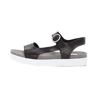 ED Ellen DeGeneres Womens caspin Fabric Open Toe Casual Ankle Strap Sandals