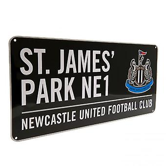 Newcastle United gateskilt BK