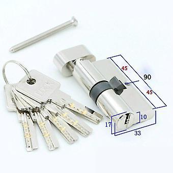 Deurslot beveiligingsslot cilinders voor huiskernslot