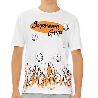 Supreme Grip Homme T-Shirt Eldorado Blanc