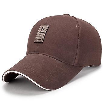 قبعة بيسبول قماشية للرجال، قبعة قطنية