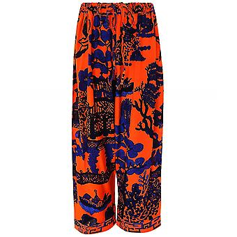One Hundred Stars Giant Willow Cropped Trousers