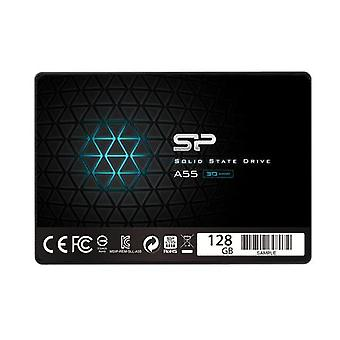 """Silicon Power A55 128GB, SSD form factor 2.5"""", SSD interface SATA, Write speed 420 MB/s, Reading speed 550 MB/s"""