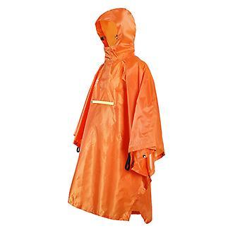 Raincoat Outdoor Camping Mountaineering Riding Poncho Waterproof Rain Poncho
