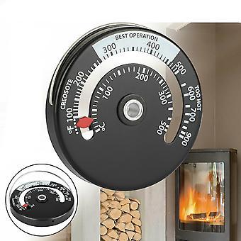 Magnetischer Holzofen Rohr Kamin Wärme TemperaturMesser Thermometer Home Geschenk