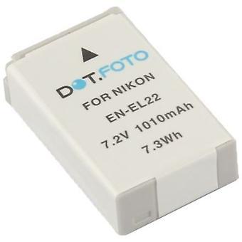 Dot.Foto Nikon EN-EL22 Replacement Battery - 7.2v / 1010mAh