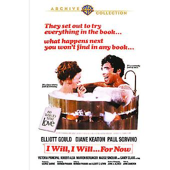 I Will I Will for Now [DVD] USA import