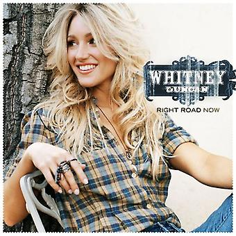 Whitney Duncan - importation USA route Right Now [CD]