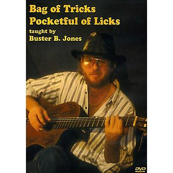 Jones, Buster B. - Bag of Tricks Pocketful of Licks [DVD] USA import