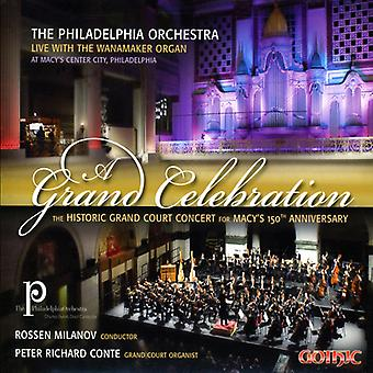 Peter Conte - Grand Celebration: The Historic Court Concert for Macy's 150th Anniversary [CD] USA import