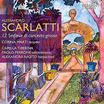 Corina Marti - Scarlatti Alessandro: 12 Sinfonie Di Concerto Grosso [CD] USA import