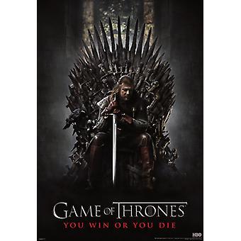 Game of Thrones - Silitysrauta Throne - seinämaalaus juliste Juliste Tulosta