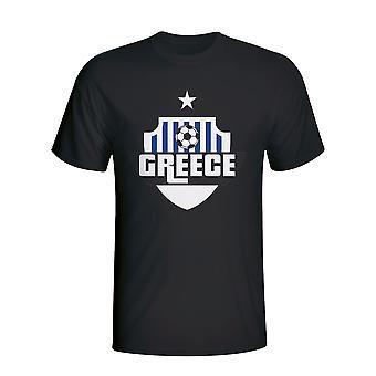 Grecia país Logo camiseta (negro)